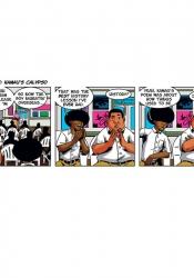 AGUINALDO BELGRAVE, Kamau's Calypso, 2015, digital comic strip