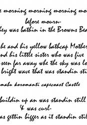 Tsunami Poem (1)