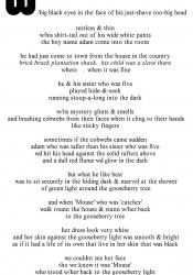 from Sun Poem (1)