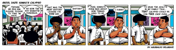 Skool Daze by Aguinaldo Belgrave (Kamau's Calypso, May 11, 2015)